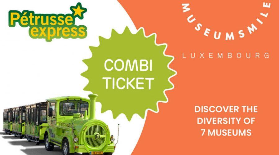 Kombi Ticket Pétrusse Express + Musées